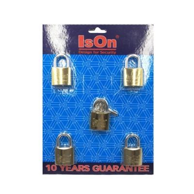 กุญแจชุด Key Alike 32มม. ISEO 5ตัวชุด