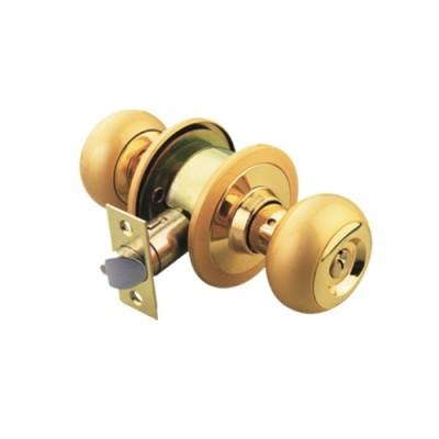 ลูกบิดห้องน้ำ ทองเหลืองแท้ VTT5222/US3 YALE
