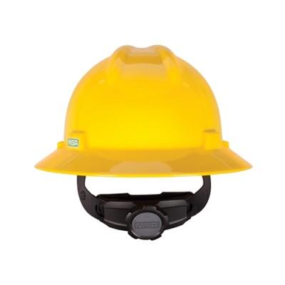 หมวกนิรภัย หมุน475366USA V-GARDเหลือง MSA