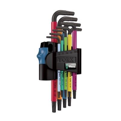 ประแจTORX05024179001 หุ้มสี 9ตัวชุด WERA
