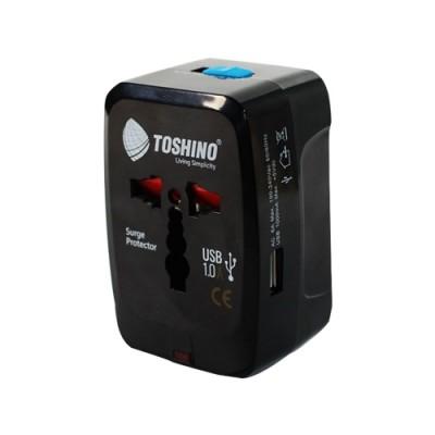 ปลั๊กแปลง 4IN1 DE-205 TOSHINO