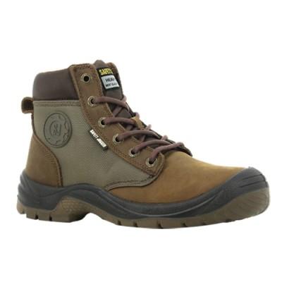 รองเท้าเซฟตี้หุ้มข้อ JOGGER DAKAR สีน้ำตาล Size 38