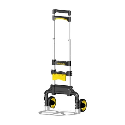 รถเข็นของอลูฯพับได้ FT501 60kg STANLEY (Aluminum Folding Hand Truck 60Kg with Basket Holder)