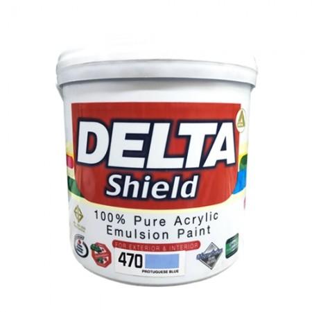 สีน้ำภายนอก เดลต้าชิลด์ 470 DELTA 1GL