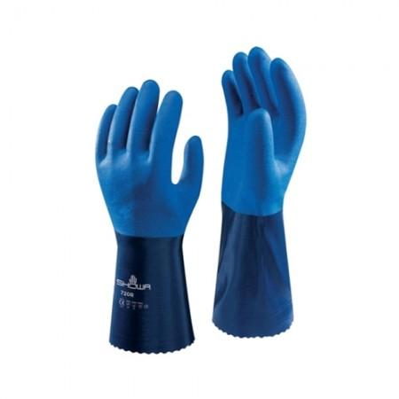 ถุงมือเคลือบไนไตรยาว30ซม21SWA720 SHOW, M