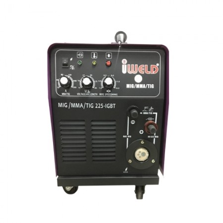 ตู้เชื่อมไฟฟ้า MIG/MMA/TIG 225A IWELD