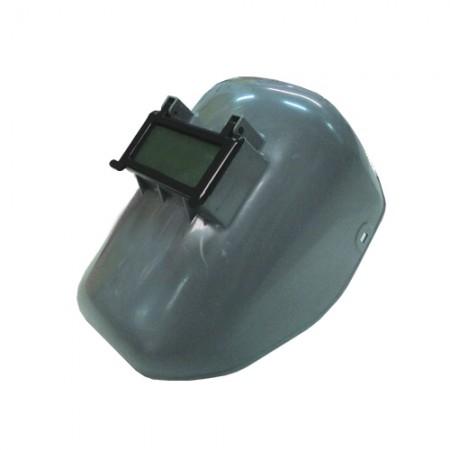 หน้ากากเชื่อมสวมหัว ABS JLA011 เทา EAGLE