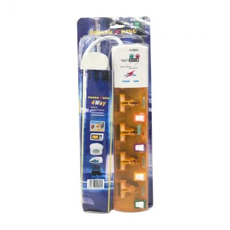 ปลั๊กคอม4ท162/4กันไฟกระชากE-Style CITY