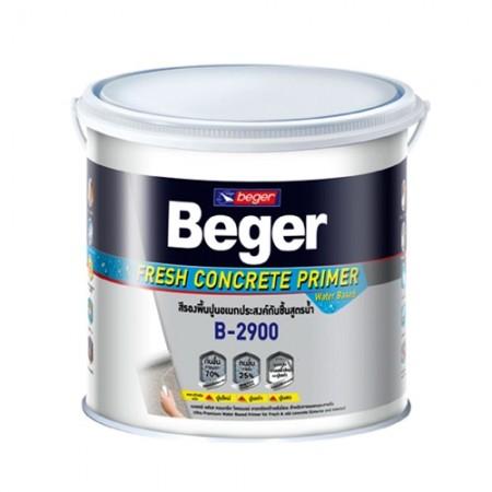 สีรองพื้นปูนใหม่/เก่า สูตรน้ำB2900 BEGER