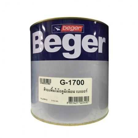 สีรองพื้นไม้ อลูมิเนียม G-1700 BEGER