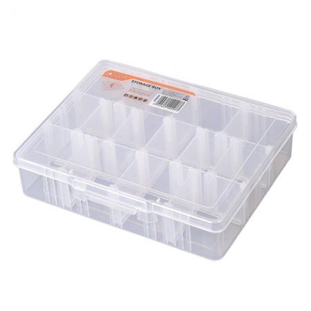 กล่องใสเก็บอะไหล่ 14 ช่อง 320004 TACTIX
