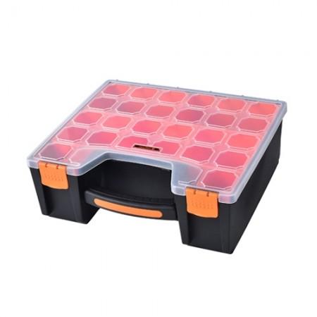 กล่องเก็บของทรงกระเป๋า ช่องลึก 31cm. 320013 TACTIX