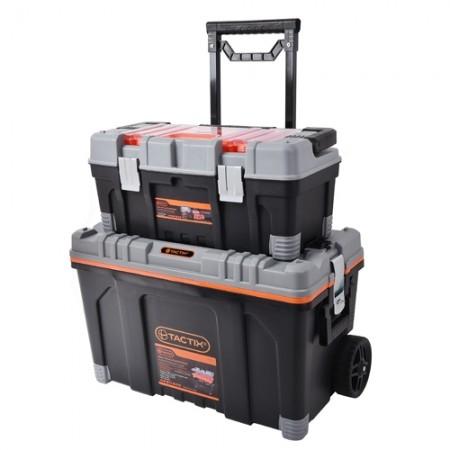 ชุดกล่องเครื่องมือล้อลาก 2in1 320308 TACTIX