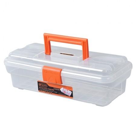กล่องเครื่องมือใส 30.5cm 320104 TACTIX