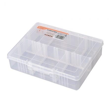 กล่องใส 6 ช่อง 19.5cm 320003 TACTIX