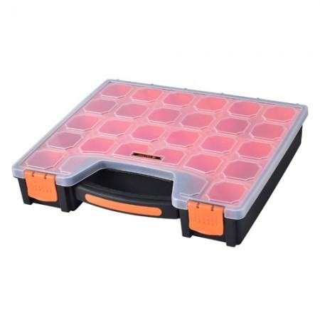 กล่องเก็บของพร้อมมือจับ 15 ช่อง 320012 TACTIX
