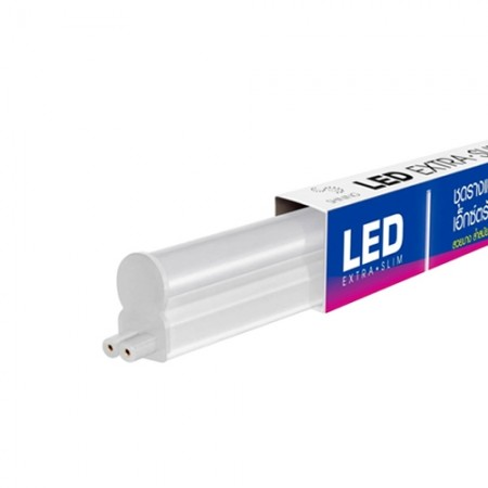 ชุดราง LED T5 EXTRASLIM 8W วอร์มไวท์ TOSHIBA