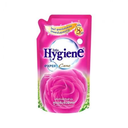 น้ำยาปรับผ้านุ่ม สูตรเข้มข้น 580มล. ไฮยีน สีชมพู
