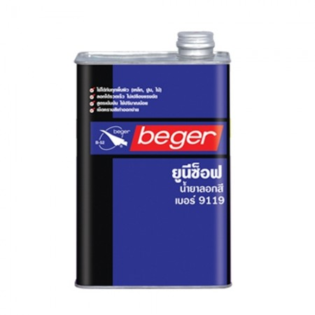 น้ำยาลอกสี ยูนีซ๊อฟ  1GL BEGER