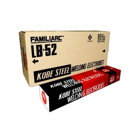 ลวดเชื่อมไฟฟ้า 4.0มม. LB52 1 ลัง KOBE