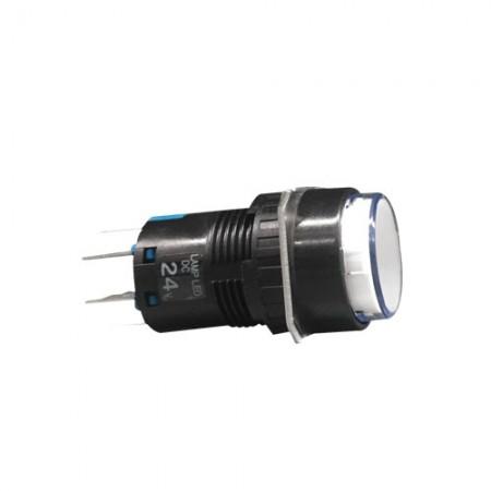 สวิทกดค้างมีไฟ16มมAL6H-A24W(2NO+2NC) IDEC