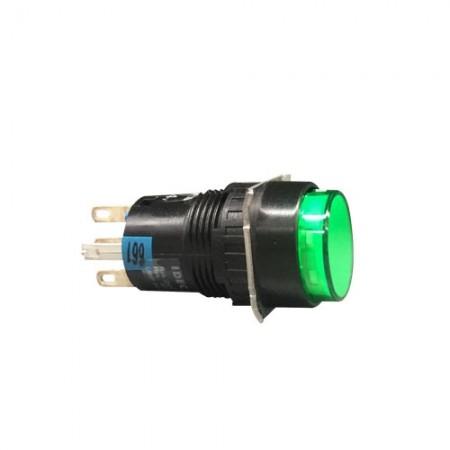 สวิทกดค้างมีไฟ16มมAL6M-A14G(1NO+1NC)IDEC