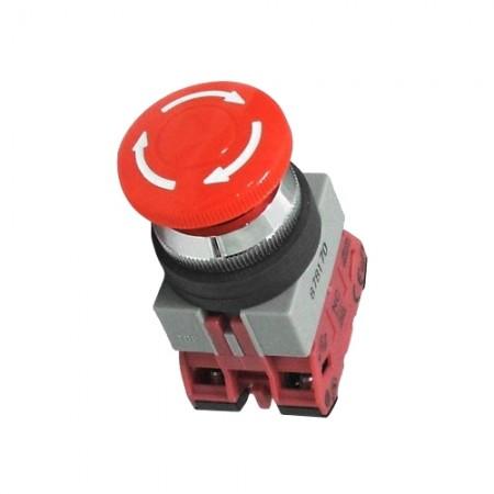 สวิทซ์ฉุกเฉิน 25มม. AVS310N-R สีแดง IDEC
