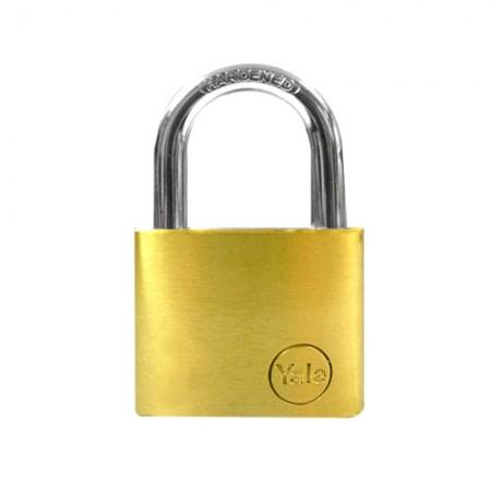 กุญแจคล้อง 40มม. YE40 YALE ทองเหลืองแท้
