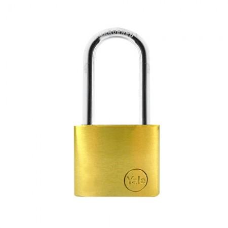 กุญแจคล้อง 50มม. YE50L YALE ทองเหลืองแท้