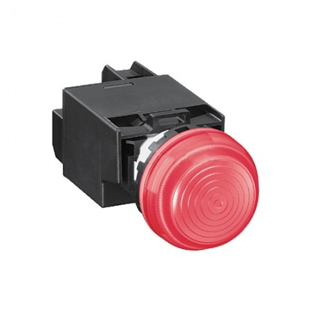 ไพล็อตแลมป์ 22มม YW1P-2EM42 220 V สีแดง IDEC