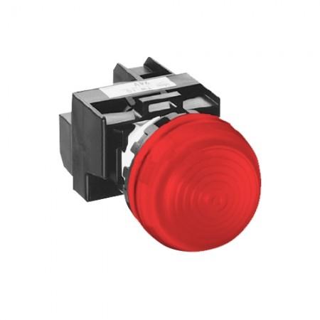 ไพล็อตแลม22มมLED YW1P-2EQM3/220V สีแดง  IDEC