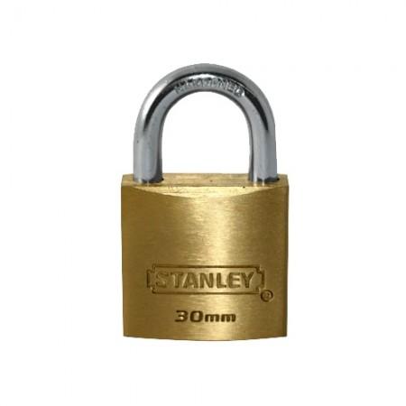 กุญแจทองเหลือง S824-651 30มม STANLEY