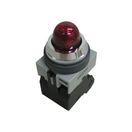 ไพล็อตแลม 25มม LED APS126N-R สีแดง IDEC