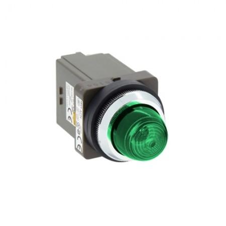 ไพล็อตแลม 30มม LED APN126-G สีเขียว IDEC