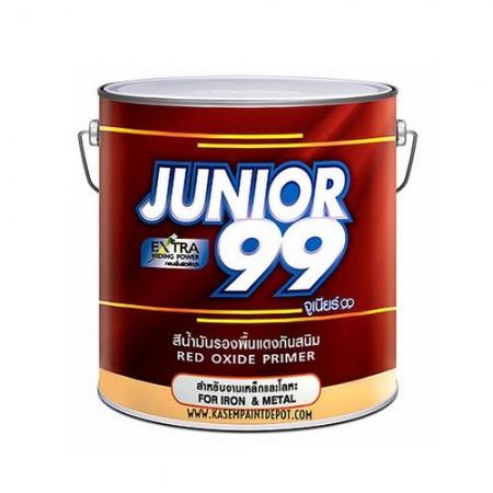 สีกันสนิมแดง 99 จูเนียร์ 5GL NIPPON