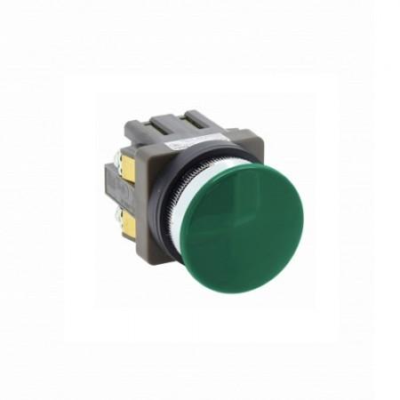 สวิทซ์หัวเห็ด30 มม. กดเด้ง ABN310 สีเขียว IDEC
