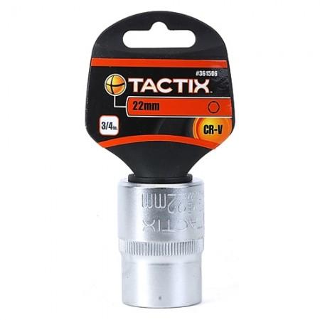 ลูกบล็อก 6P 3/4 361506 22มม. TACTIX