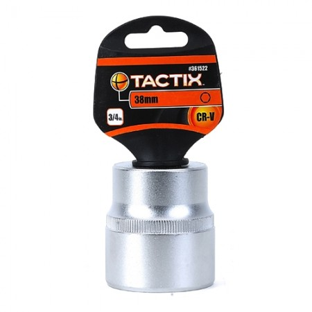 ลูกบล็อก 6P 3/4 361522 38มม. TACTIX