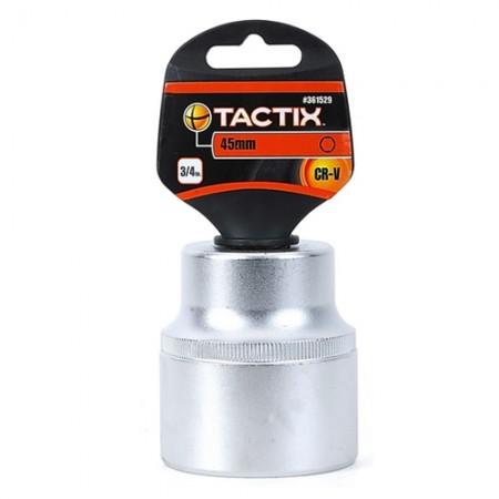 ลูกบล็อก 6P 3/4 361529 45มม. TACTIX
