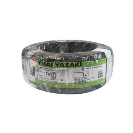 สายคอนโทรล (IEC 06 IV) 1*1.0 YAZAKI สีดำ