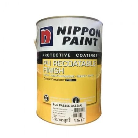 สี PU Recoat Pastel(A) NIPPON 5LA+B เงา