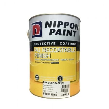สี PU Recoat Deep(C) NIPPON 5LA+B เงา