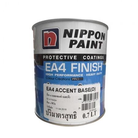 สี PU Recoat Accent(D) NIPPON 1LA+B เงา