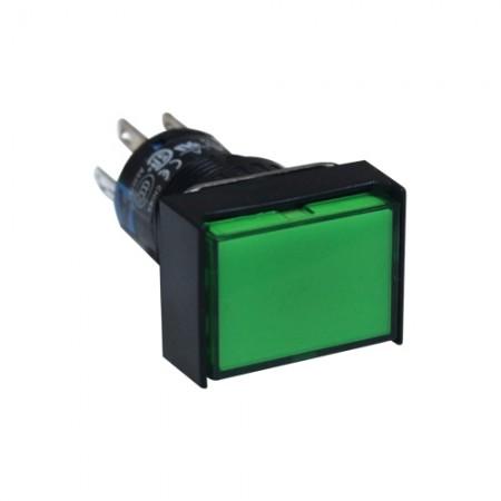 สวิทกดเด้งมีไฟ16มมAL6H-M14G(1NO+1NC)IDEC