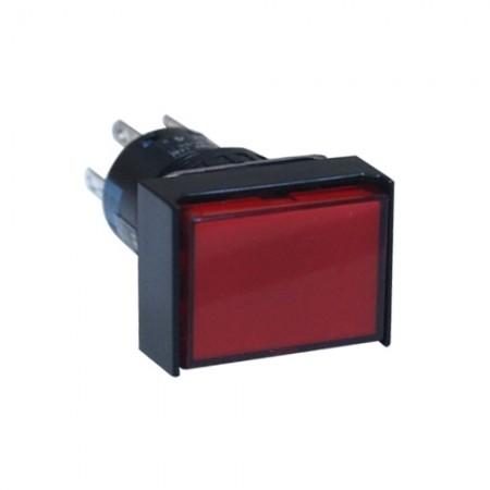 สวิทกดเด้งมีไฟ16มมAL6H-M14R(1NO+1NC)IDEC