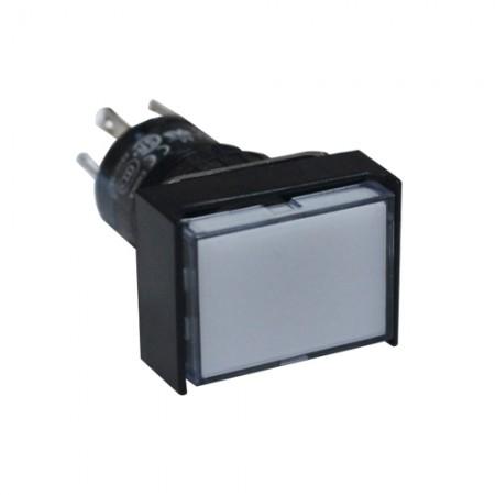 สวิทกดเด้งมีไฟ16มม AL6H-M14W(1NO+1NC)IDEC