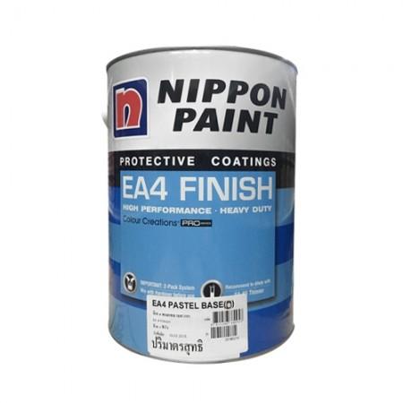 สีอีเอ4ฟินิชBaseAccent(D)NIPPON5L.A+Bเงา