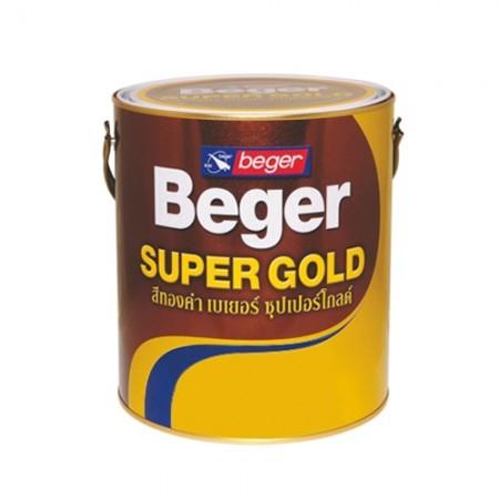 สีทองคำ (น้ำมัน) 0.1ลิตร AE303 BEGER