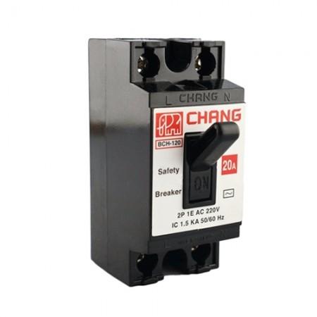 เบรคเกอร์ไฟฟ้า 20A BCH-120 CHANG