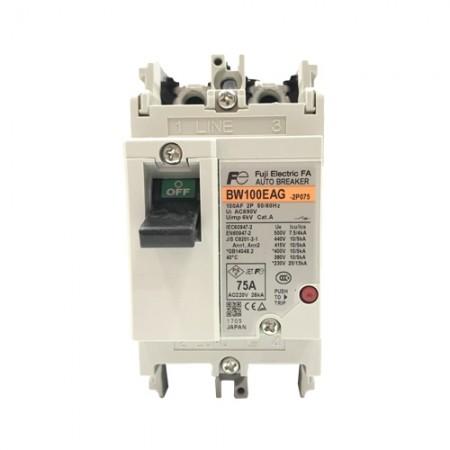 เบรคเกอร์ไฟฟ้า 2P75A FUJI BW100EAG
